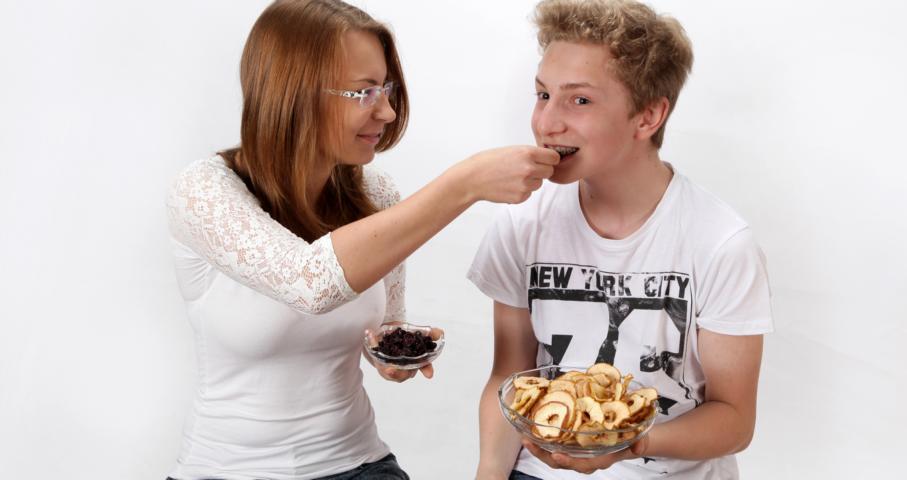Naše děti mají rády sušené ovoce i dnes